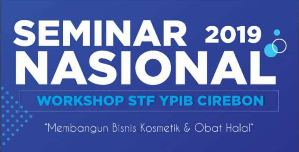 Seminar Nasional 2019 STF YPIB Cirebon